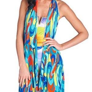 Trina Turk Womens Sarong Wrap Multi Color